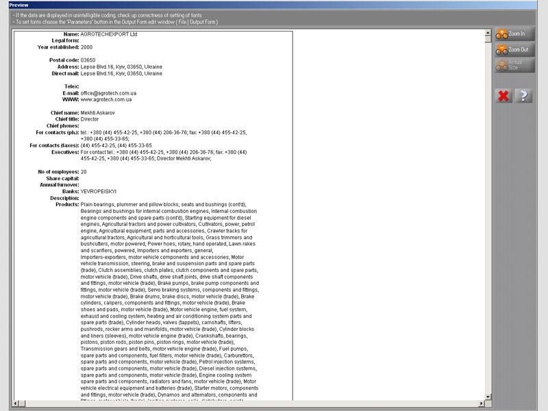 printing: company profiles